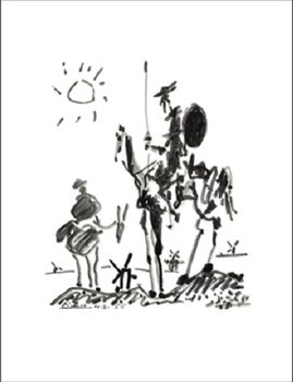 Don Quichotte Art Print