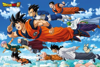 Poster Dragon Ball - Flying