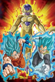 Dragon Ball - Golden Frieza Poster