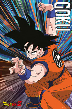 Dragon Ball Z - Goku Jump Poster