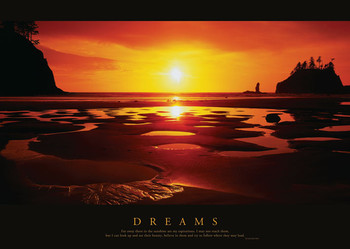 Dreams - Sunset Poster