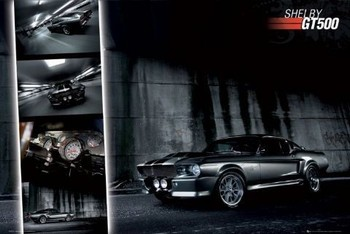Easton - shelby gt 500 Poster