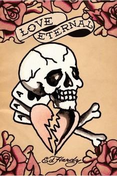 Ed Hardy - love eternal Poster, Art Print