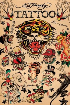 Ed Hardy - montage Poster