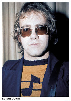 Elton John - London Poster