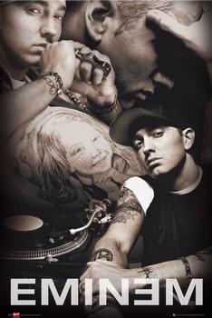 Eminem - collage Bravado Poster