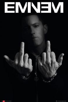 Pôster Eminem - fingers