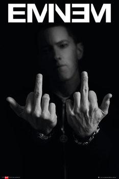 Eminem - Fingers Framed Poster