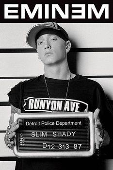 Eminem - mugshot Poster, Art Print