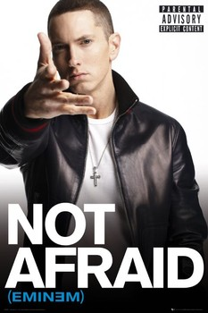 Eminem - not afraid Poster