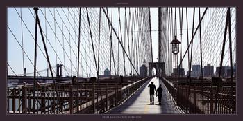 Entre Brooklyn et Manhattan Art Print