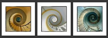 Escaliers de phare Art Print