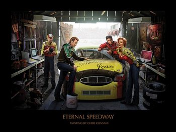 Eternal Speedway - Chris Consani Art Print