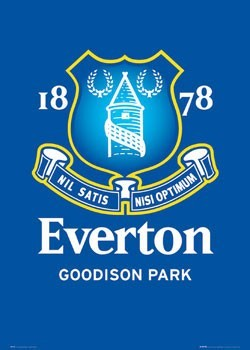 Everton - club crest Poster
