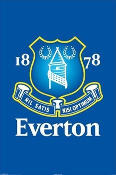 Everton - crest Poster