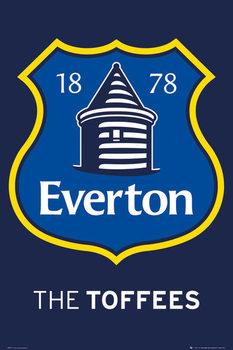 Everton FC - Crest 2013 Poster