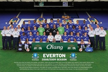 Everton - Team Poster
