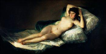 F.De.Goya - La Maja Desnuda Art Print