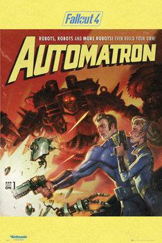 Fallout 4 - Automatron Poster