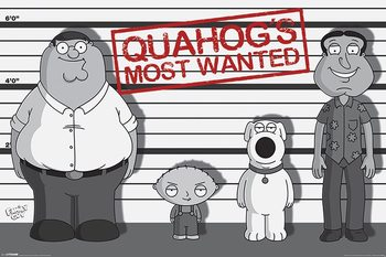 Family Guy - Line Up Framed Poster