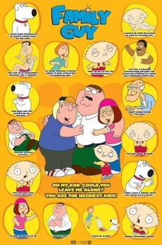 FAMILY GUY - quotes 3 Poster
