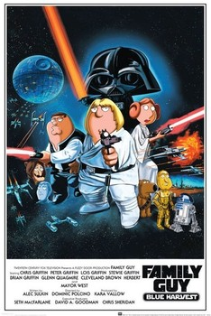 FAMILY GUY - star wars Poster