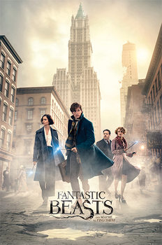 Poster  Fantastic Beasts - New York Streets