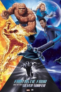 Poster  Fantastic Four- Rise