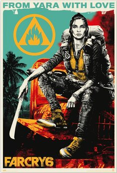 Poster Far Cry 6 - From Yara With Love