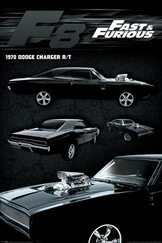 Poster Fast & Furious - Dodge Charger