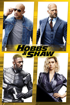 Fast & Furious Presents: Hobbs & Shaw - Cast Poster