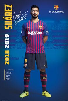 FC Barcelona 2018/2019 - Luis Suarez Poster