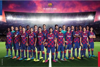 FC Barcelona 2019/2020 Poster