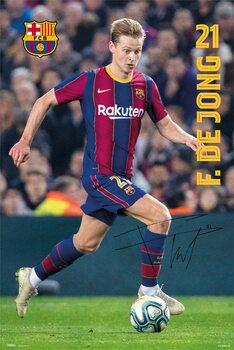 FC Barcelona - De Jong 2020/2021 Poster