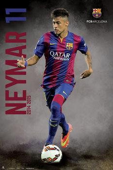 FC Barcelona - Neymar 14/15 Poster