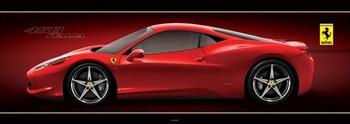 Pôster Ferrari - 458 italia