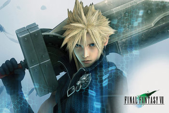 Final Fantasy VII - Cloud Poster