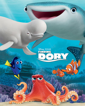 Poster Finding Dory - Friend Group