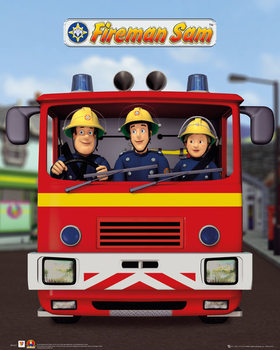 Fireman Sam - Jupiter Poster