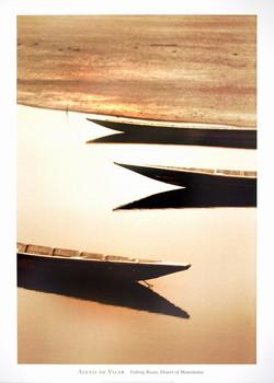 Fishng Boats,Desert/Mauritania Art Print