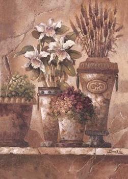 Floral Elegance I Art Print