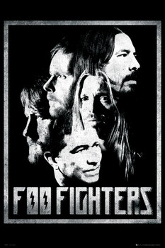 Foo Fighters - euro group Poster, Art Print