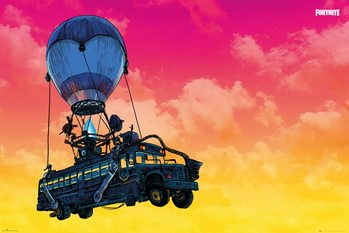Fortnite - Battle Bus Poster