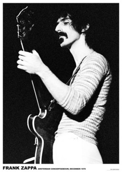 Frank Zappa - Armsterdam 1970 Poster