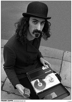 Poster Frank Zappa - Buckingham Palace