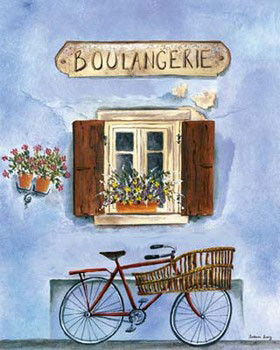 French Bicycle IV Art Print