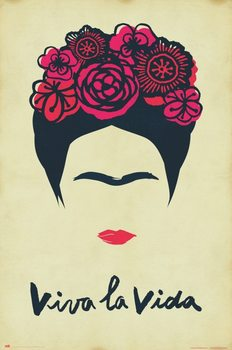 Poster Frida Kahlo - Viva La Vida