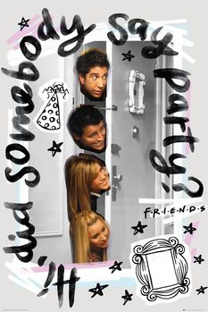 Friends - Party Poster