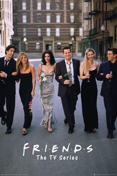 Poster Friends - séries de TV