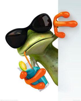 Frog - Drink Poster